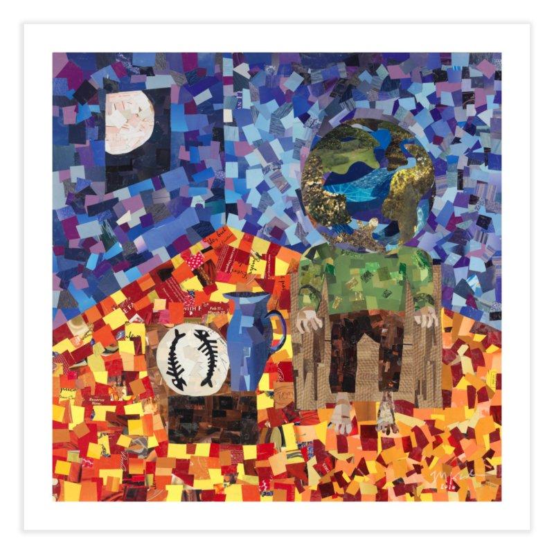 Original Art:  Between Matrix Ages (t-shirts, stickers and prints) Fine Art Prints Fine Art Print by Susquehanna Alchemy's SWAG Shop