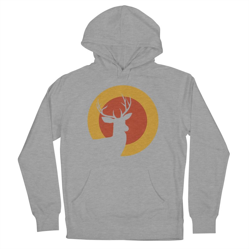 deer in sunny day Women's Pullover Hoody by sustici's Artist Shop