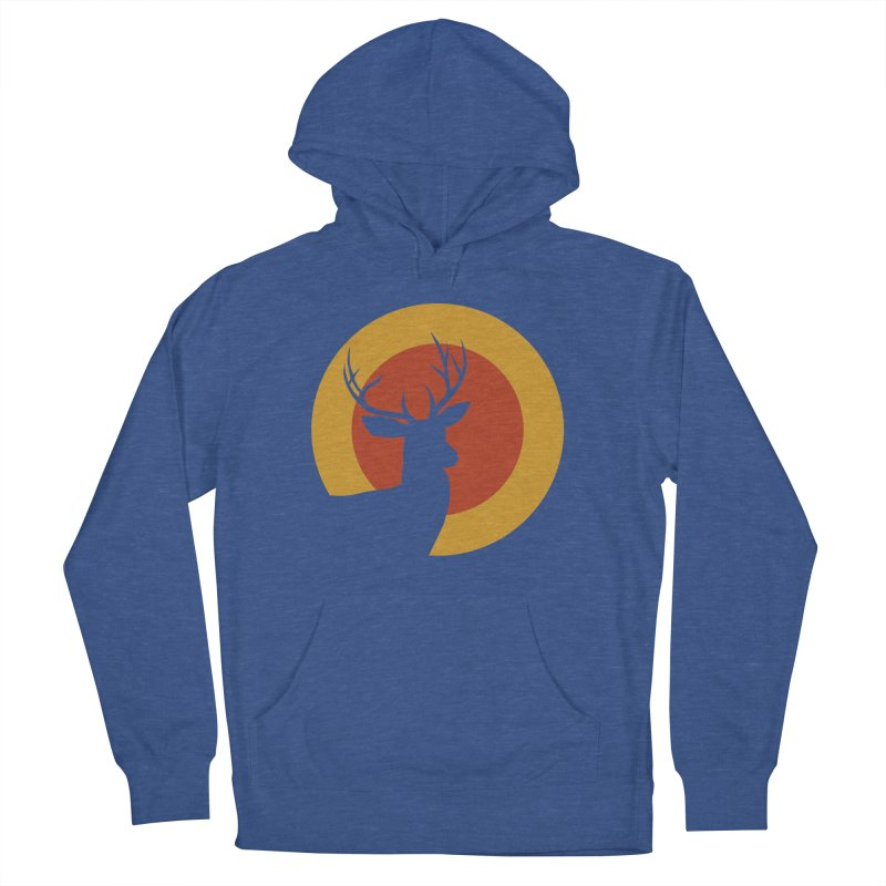 deer in sunny day Men's Pullover Hoody by sustici's Artist Shop