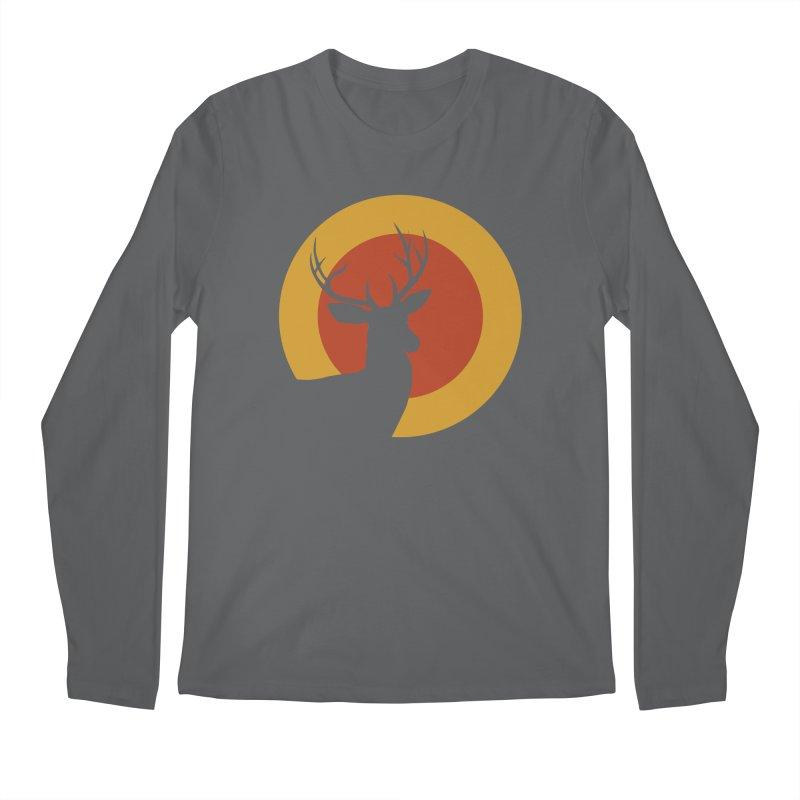 deer in sunny day Men's Longsleeve T-Shirt by sustici's Artist Shop