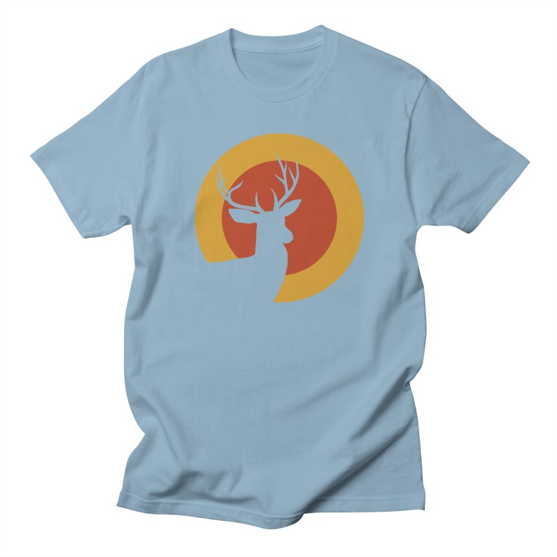 deer in sunny day Men's T-shirt by sustici's Artist Shop