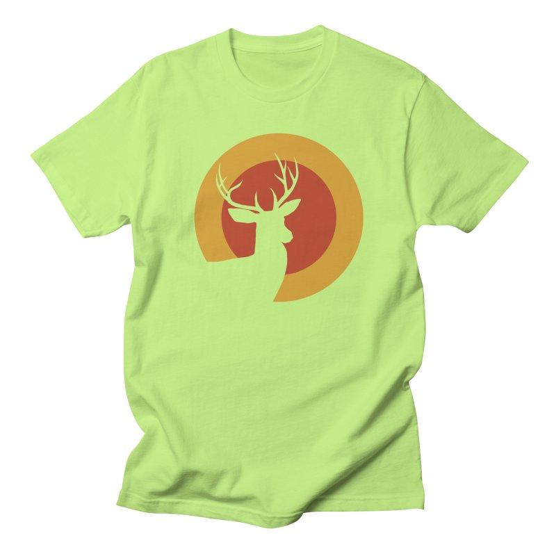 deer in sunny day Men's T-shirt by sustici's Artist Shop