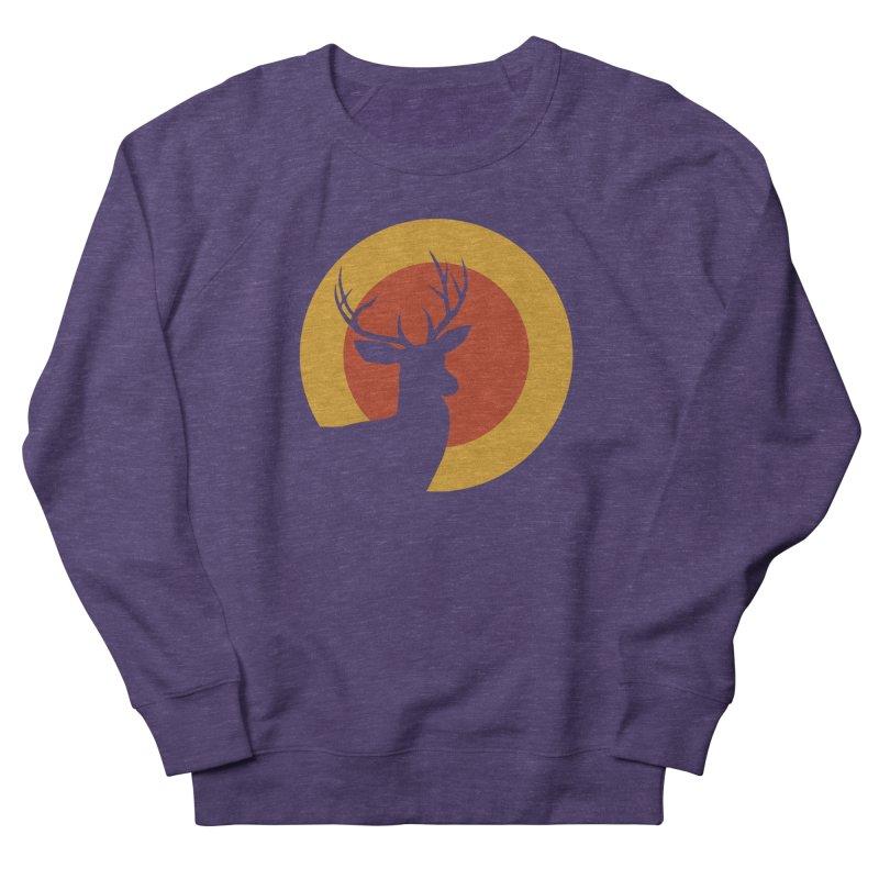 deer in sunny day Men's Sweatshirt by sustici's Artist Shop