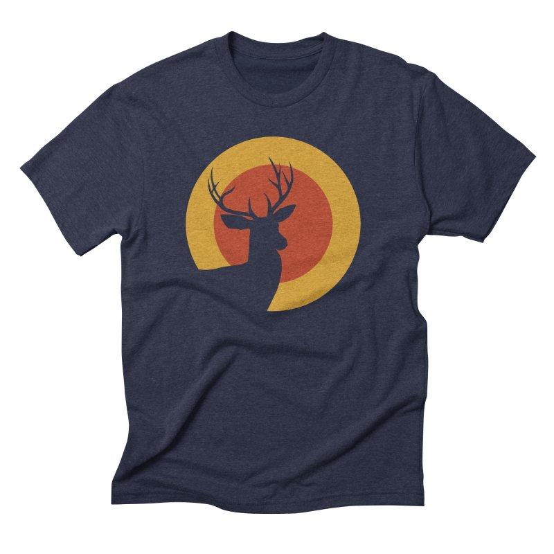 deer in sunny day Men's Triblend T-shirt by sustici's Artist Shop