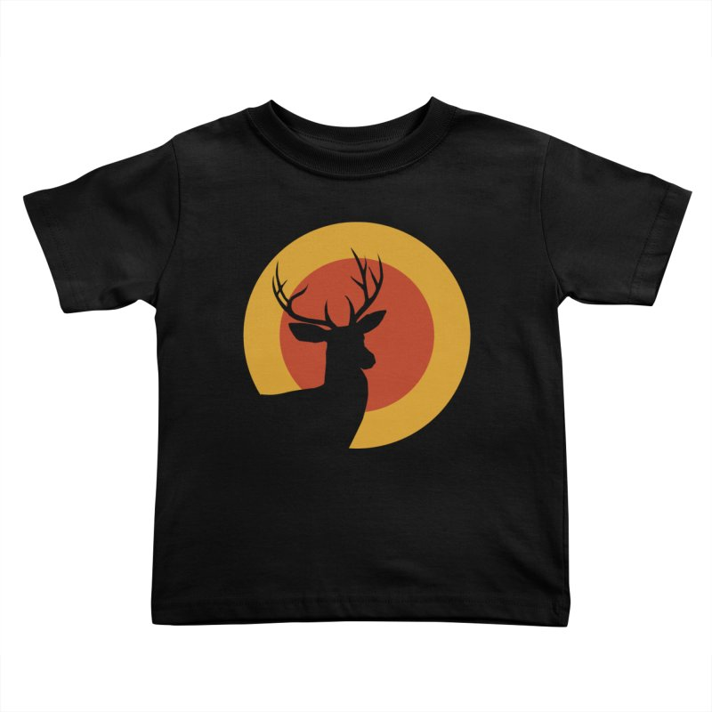 deer in sunny day Kids Toddler T-Shirt by sustici's Artist Shop