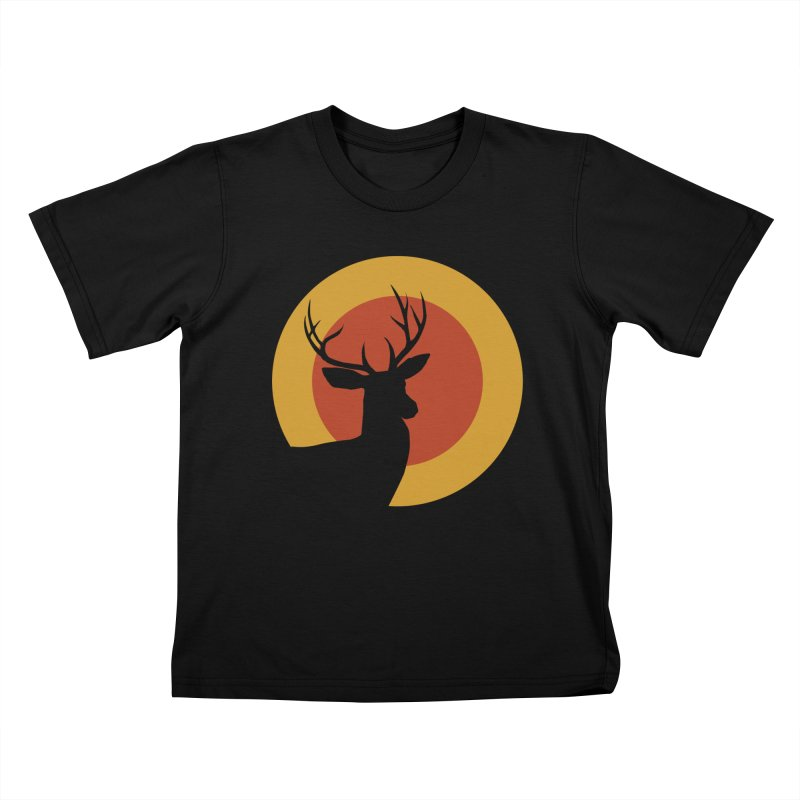 deer in sunny day Kids T-shirt by sustici's Artist Shop