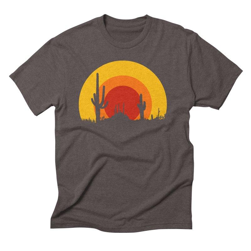 mucho calor Men's Triblend T-shirt by sustici's Artist Shop