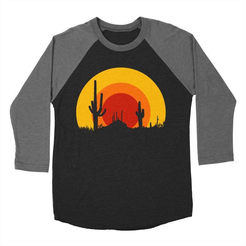mucho calor Women's Baseball Triblend T-Shirt by sustici's Artist Shop