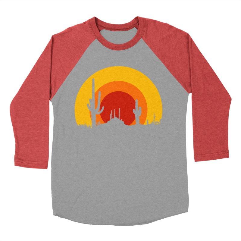 mucho calor Men's Baseball Triblend T-Shirt by sustici's Artist Shop