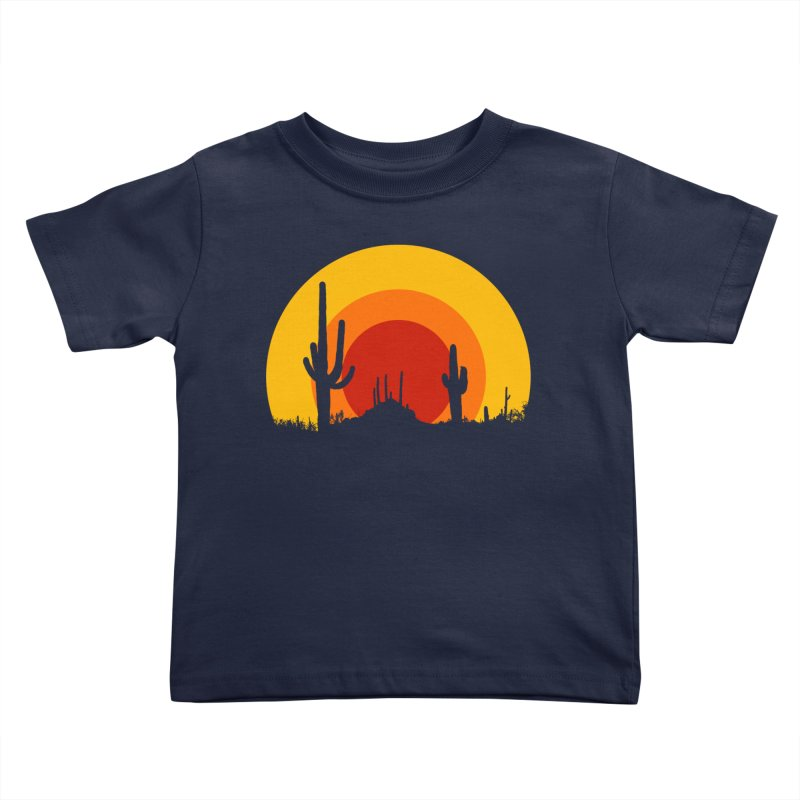 mucho calor Kids Toddler T-Shirt by sustici's Artist Shop