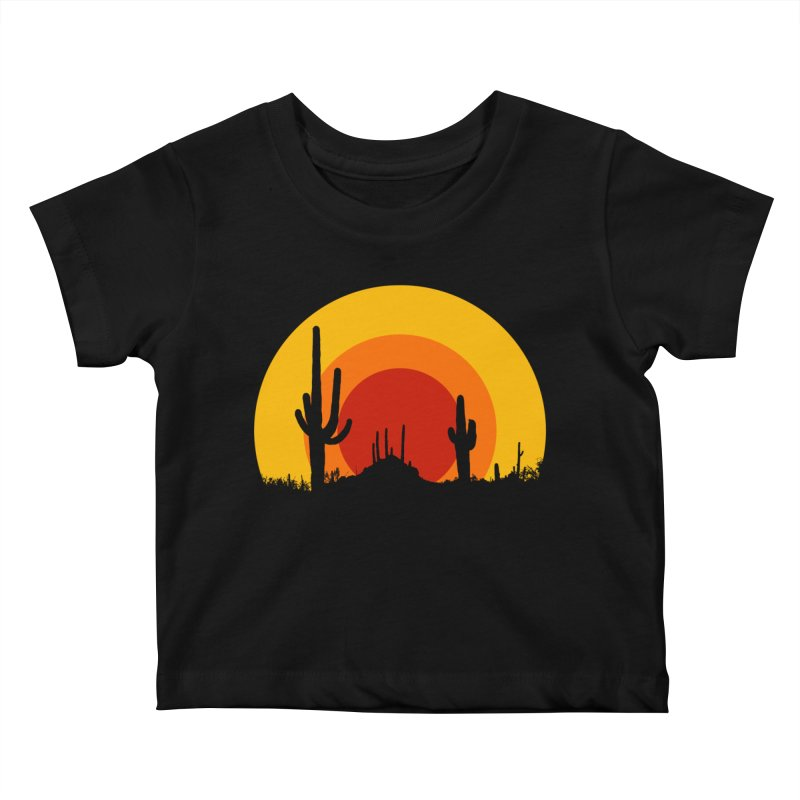 mucho calor Kids Baby T-Shirt by sustici's Artist Shop