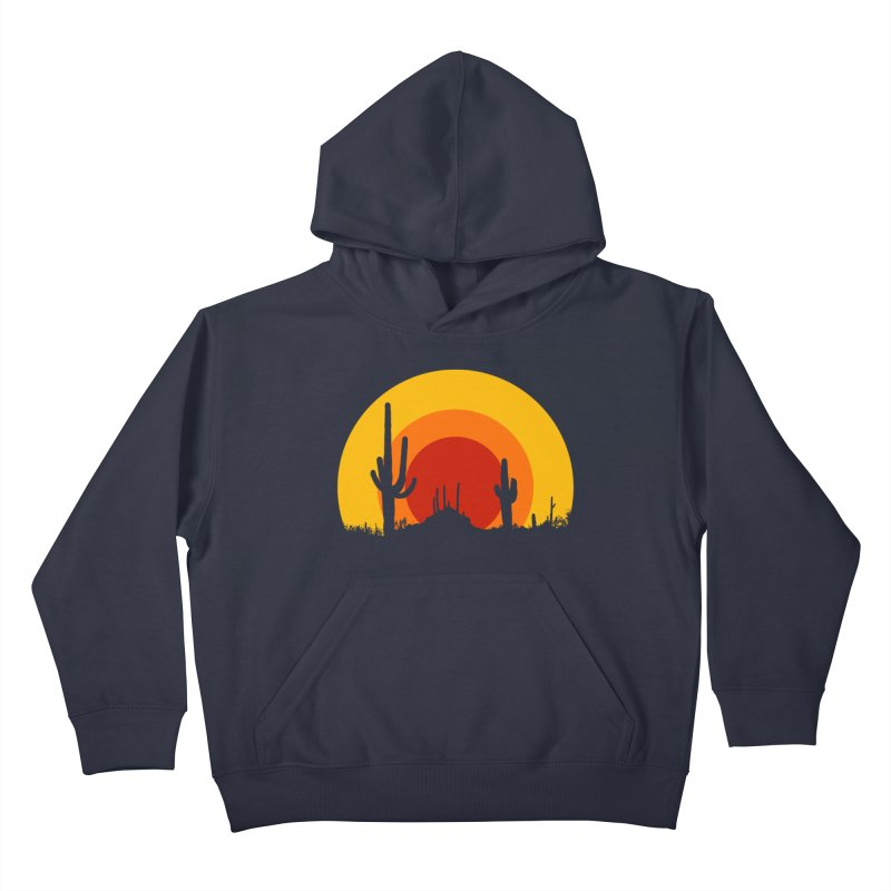 mucho calor Kids Pullover Hoody by sustici's Artist Shop