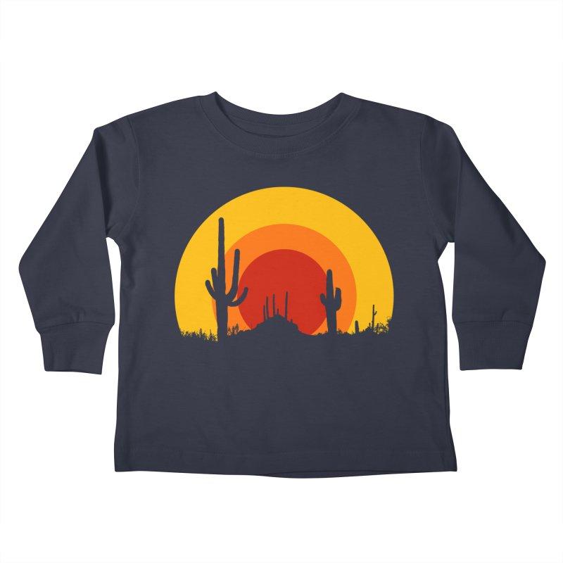 mucho calor Kids Toddler Longsleeve T-Shirt by sustici's Artist Shop