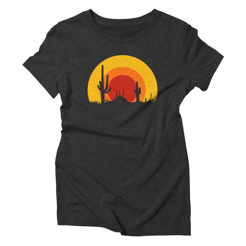 mucho calor Women's Triblend T-shirt by sustici's Artist Shop