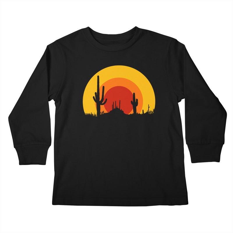 mucho calor Kids Longsleeve T-Shirt by sustici's Artist Shop