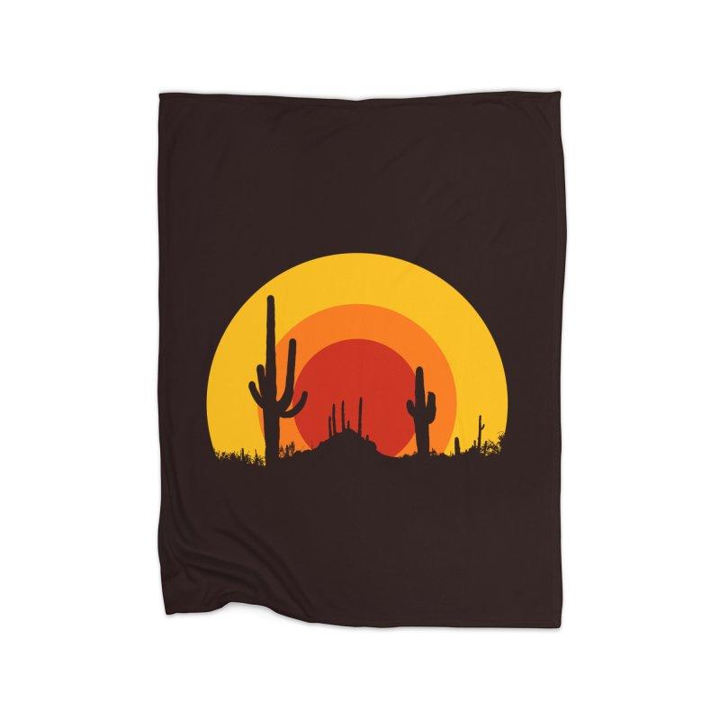 mucho calor Home Blanket by sustici's Artist Shop