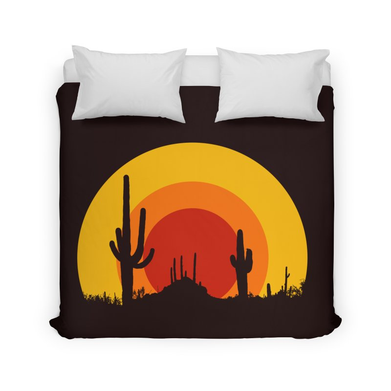 mucho calor Home Duvet by sustici's Artist Shop