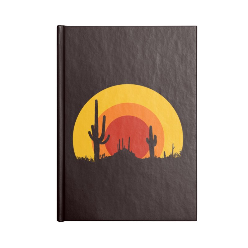 mucho calor Accessories Notebook by sustici's Artist Shop
