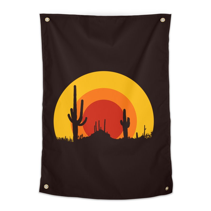 mucho calor Home Tapestry by sustici's Artist Shop