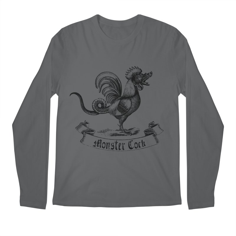 Monster Cock Men's Longsleeve T-Shirt by sustici's Artist Shop