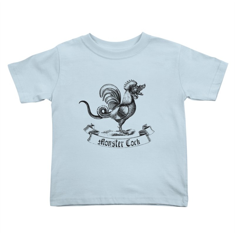 Monster Cock Kids Toddler T-Shirt by sustici's Artist Shop