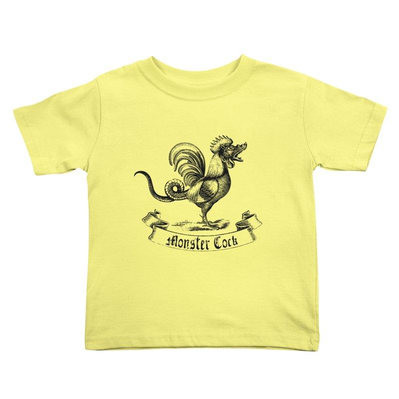 Monster Cock Kids Toddler T-Shirt by sustici's Artist Shop