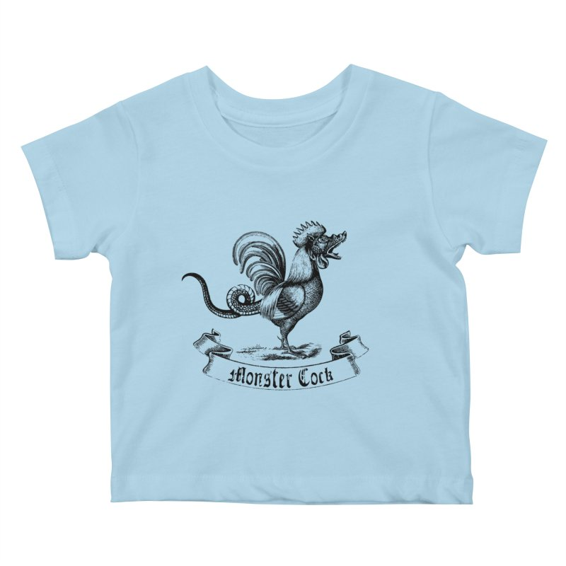 Monster Cock Kids Baby T-Shirt by sustici's Artist Shop