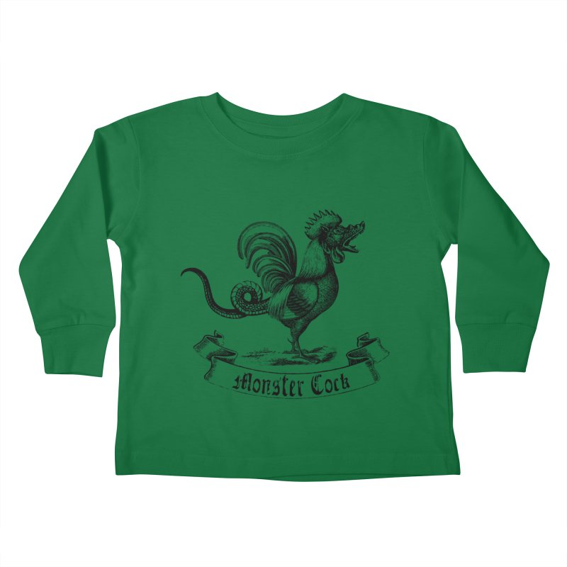 Monster Cock Kids Toddler Longsleeve T-Shirt by sustici's Artist Shop