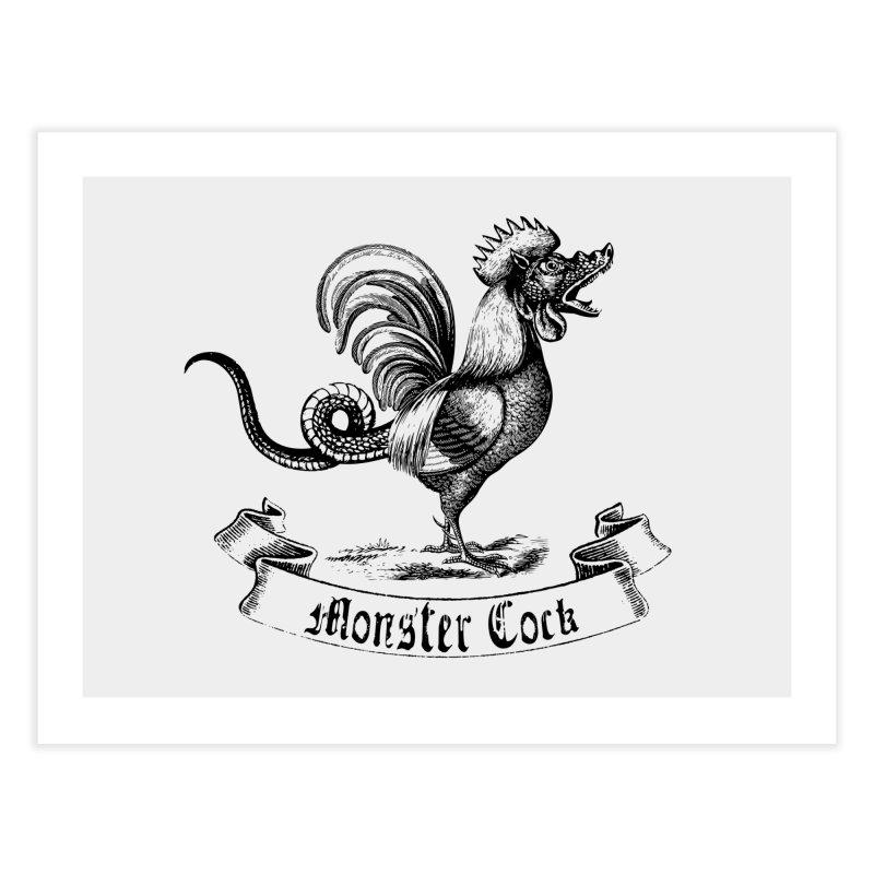 Monster Cock Home Fine Art Print by sustici's Artist Shop