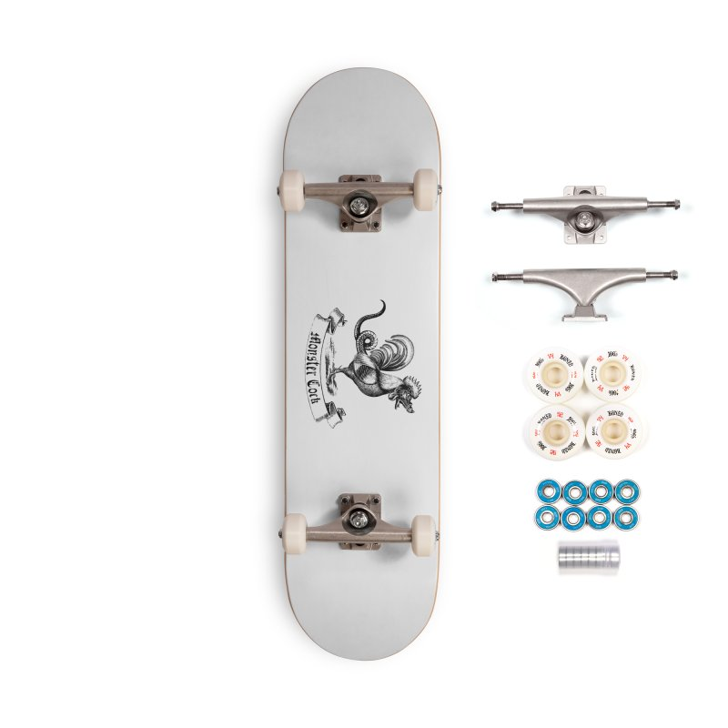 Monster Cock Accessories Complete - Premium Skateboard by sustici's Artist Shop