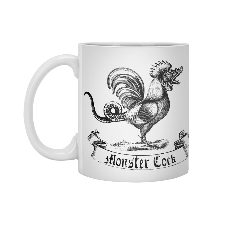 Monster Cock Accessories Standard Mug by sustici's Artist Shop