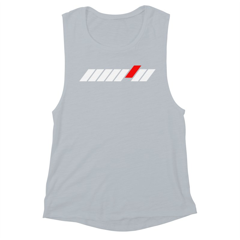 Different Women's Muscle Tank by sustici's Artist Shop