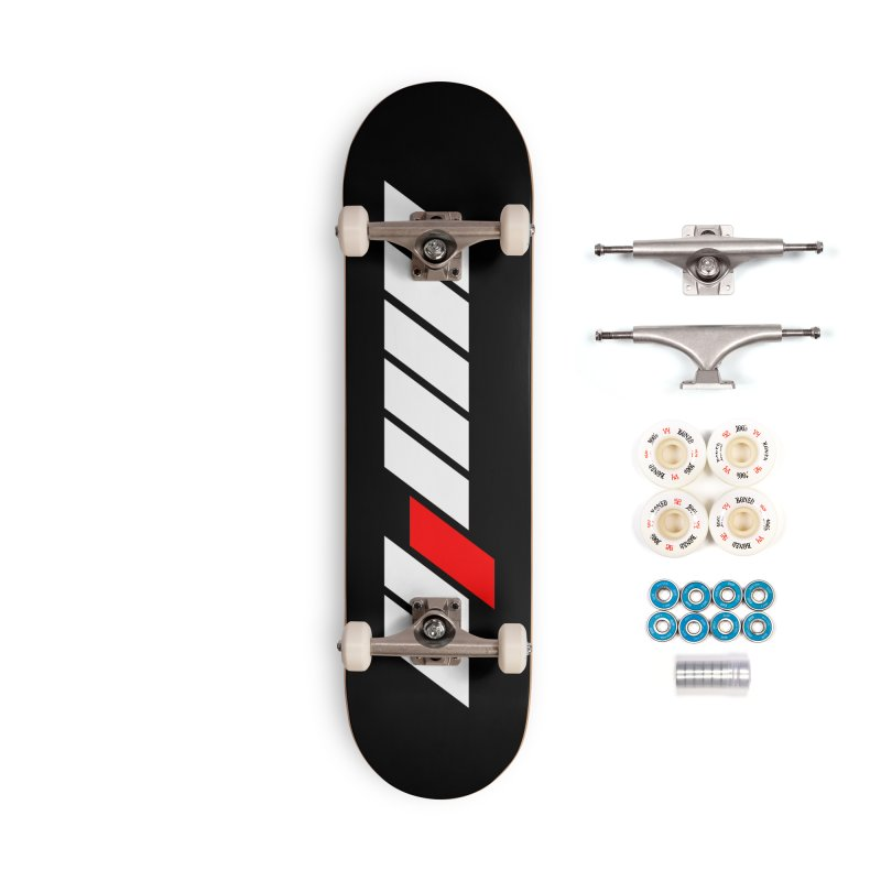 Different Accessories Complete - Premium Skateboard by sustici's Artist Shop