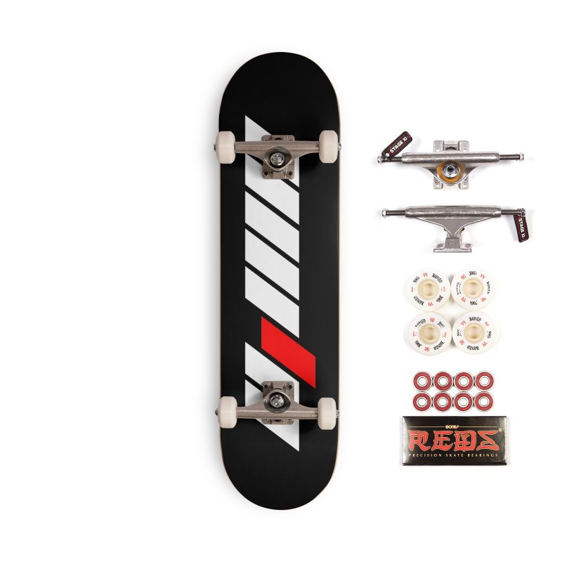 Different Accessories Skateboard by sustici's Artist Shop