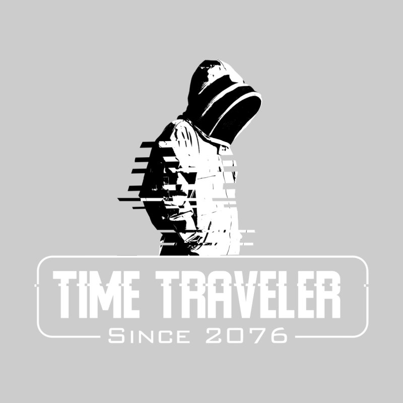 Time Traveler Accessories Sticker by sustici's Artist Shop