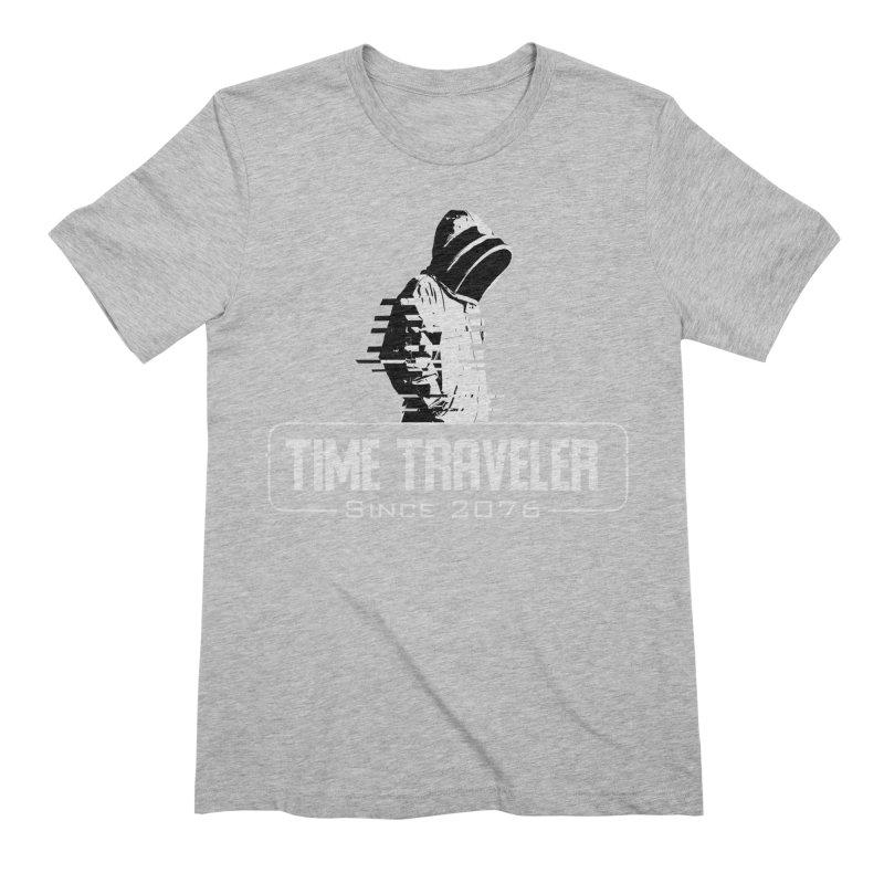 Time Traveler Men's Extra Soft T-Shirt by sustici's Artist Shop