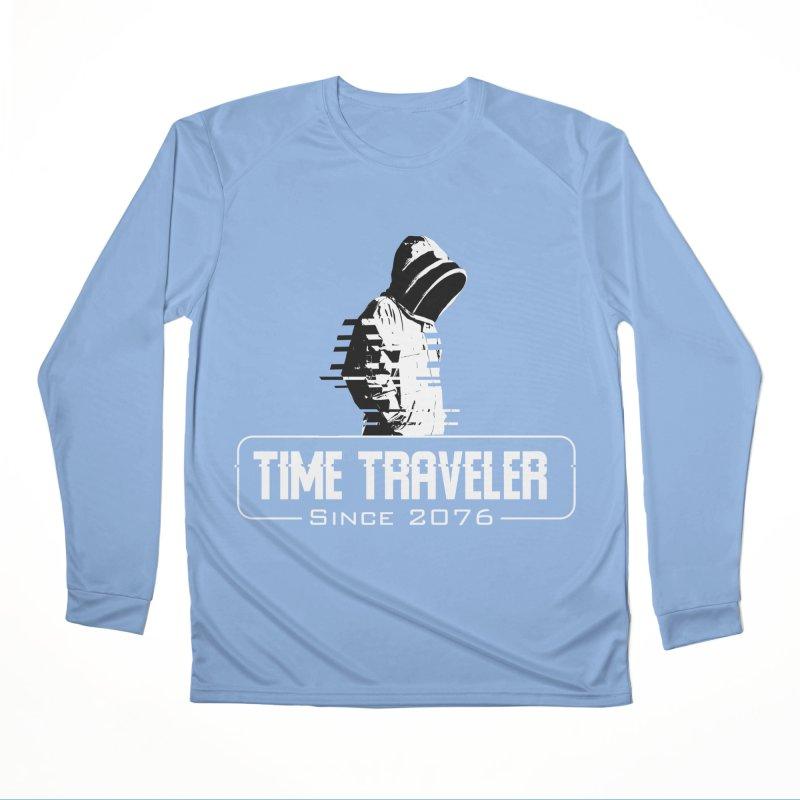 Time Traveler Men's Performance Longsleeve T-Shirt by sustici's Artist Shop