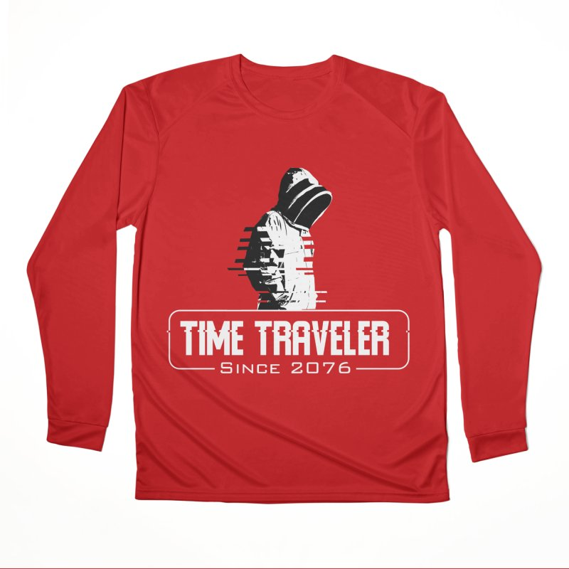 Time Traveler Men's Performance Longsleeve T-Shirt by sustici's Artist Shop