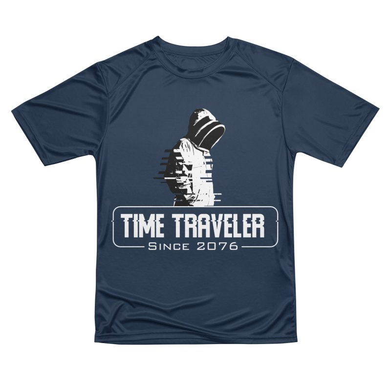 Time Traveler Men's Performance T-Shirt by sustici's Artist Shop