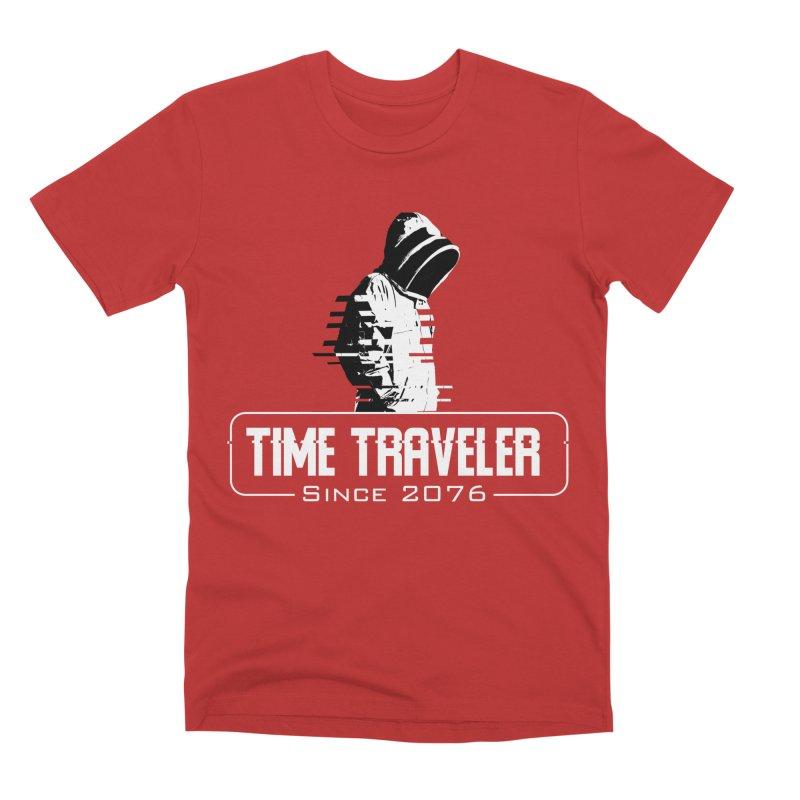 Time Traveler Men's Premium T-Shirt by sustici's Artist Shop