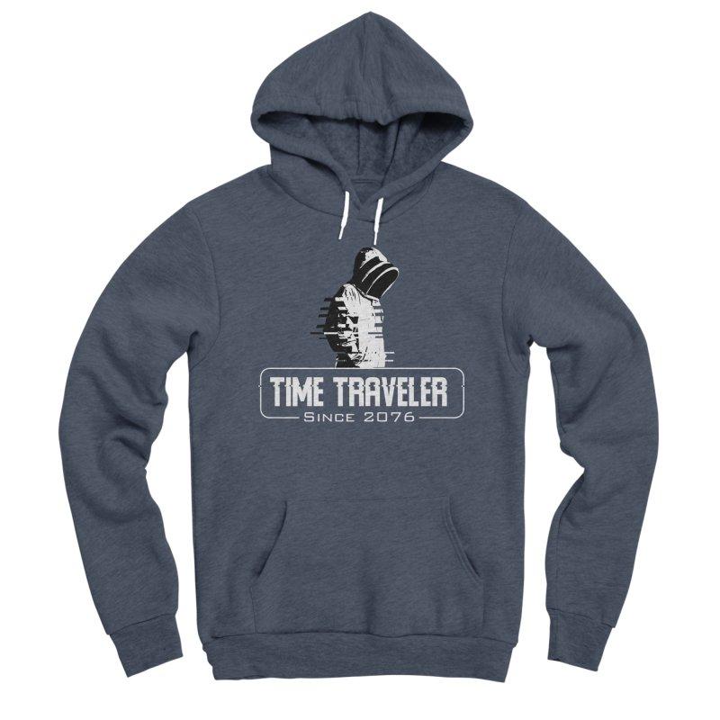 Time Traveler Men's Sponge Fleece Pullover Hoody by sustici's Artist Shop