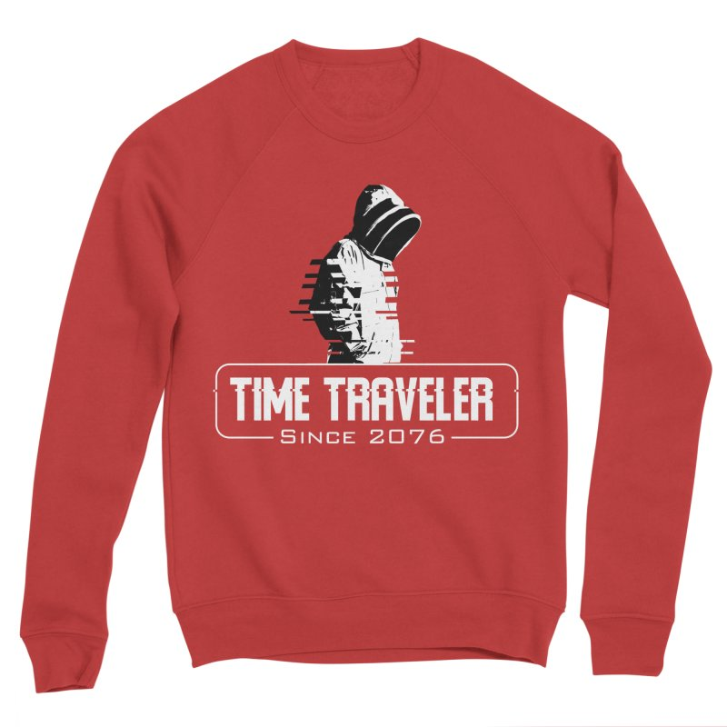 Time Traveler Men's Sponge Fleece Sweatshirt by sustici's Artist Shop