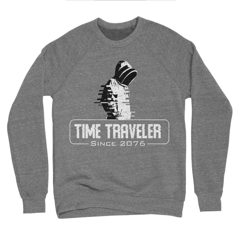 Time Traveler Men's Sweatshirt by sustici's Artist Shop