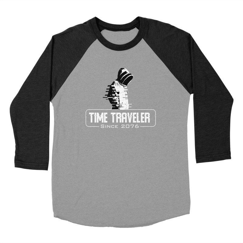 Time Traveler Men's Baseball Triblend Longsleeve T-Shirt by sustici's Artist Shop