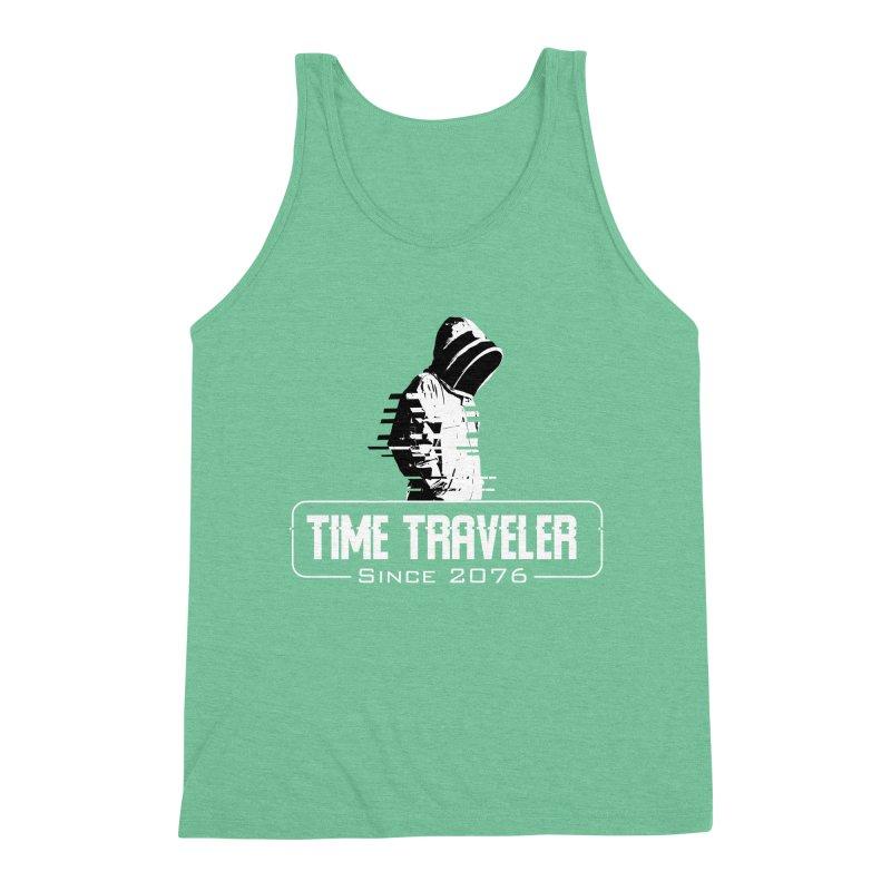 Time Traveler Men's Triblend Tank by sustici's Artist Shop
