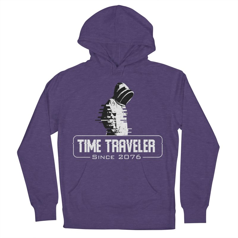 Time Traveler Men's French Terry Pullover Hoody by sustici's Artist Shop