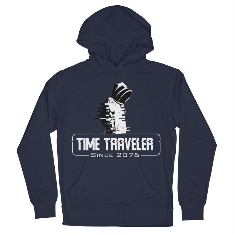 Time Traveler Men's Pullover Hoody by sustici's Artist Shop