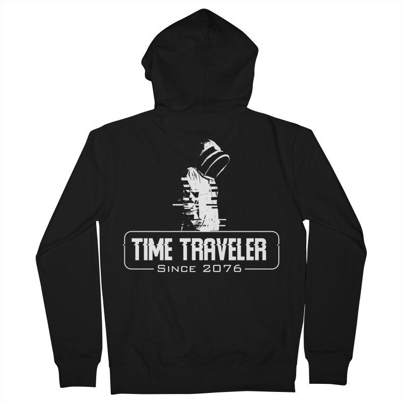 Time Traveler Men's Zip-Up Hoody by sustici's Artist Shop