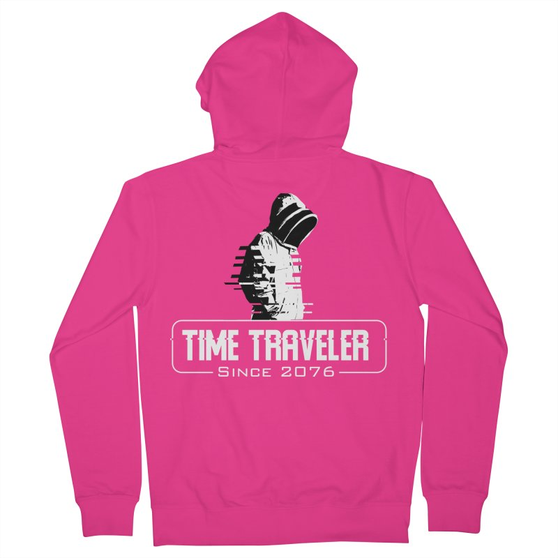 Time Traveler Men's Zip-Up Hoody by sustici's Artist Shop