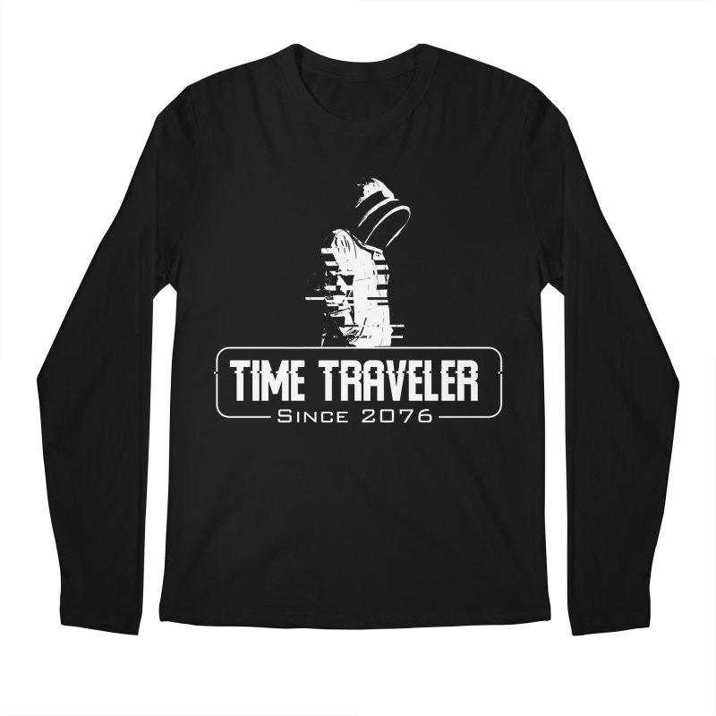 Time Traveler Men's Regular Longsleeve T-Shirt by sustici's Artist Shop